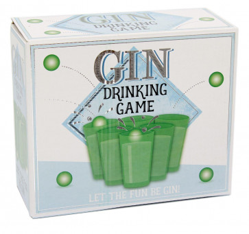 Gin Pong Super Fun Hen Stag Do Office Party Adult Drinking Game