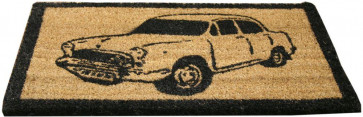Vehicle Doormat ~ Natural Coir Door Mat Car