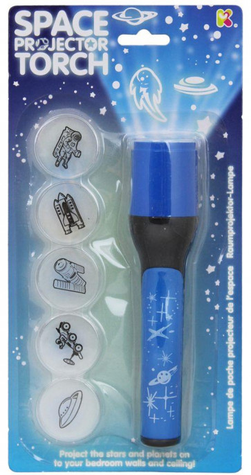 Childrens Science Educational Toy Space Projector Torch Night Light