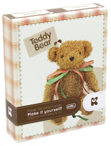 Keycraft Make Your Own Teddy Bear Sewing Craft Activity Kit For Children