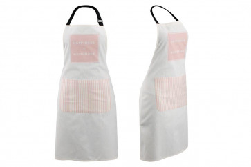 Loft Contemporary Housewares Happiness Is Homemade Cotton Apron ~ Pink