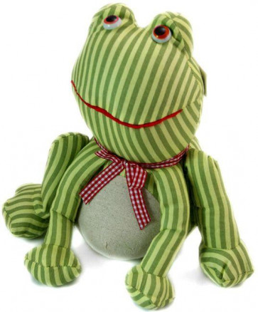 Homecraft Frog Doorstop ~ Pretty 23Cm Door Stop Stripes Design