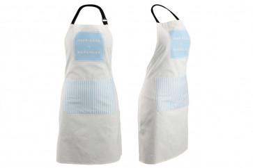 Loft Contemporary Housewares Happiness Is Homemade Cotton Apron ~ Blue