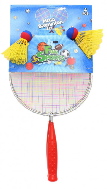 Fun Sports Mega Giant Beach Garden Badminton Set with Shuttlecocks