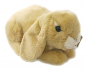 Living Nature Lop Eared Rabbit Soft Toy - Cream