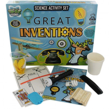 Grafix Weird Science Great Inventions Science Experiments Activity Set