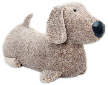 Take Me Home Dachshund Sausage Dog Doorstop Decorative Door Stop ~ Brown