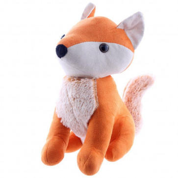 Orange Fox Shaped Doorstop - Fabric Door Stop