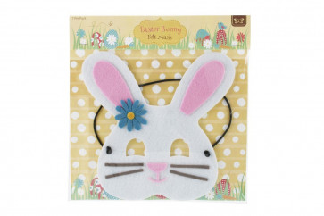Easter Bunny Felt Mask ~ Childrens Easter Fancy Dress Costume Mask