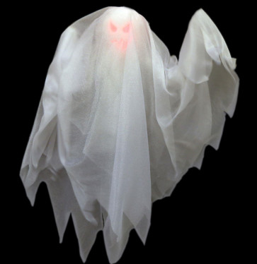 Hanging Moving Light Up Halloween Ghost Party Decoration Prop With Sound