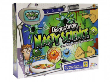 Grafix Weird Science Disgustingly Nasty Science Set For Children