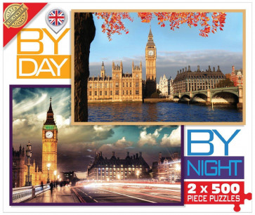 Cheatwell Games By Day By Night London Jigsaw Puzzle
