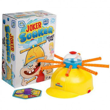 Games Hub Joker Soaker Helmet Spin Summer Outdoor Water Game - Hilarious Fun Filled Game Of Suspense
