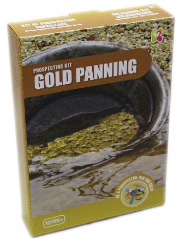Gold Panning Prospecting Kit Discovery Science Toy