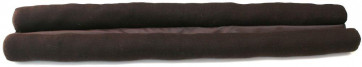 80Cm Under Door Draught Excluder ~ Twin Draught Excluder Brown