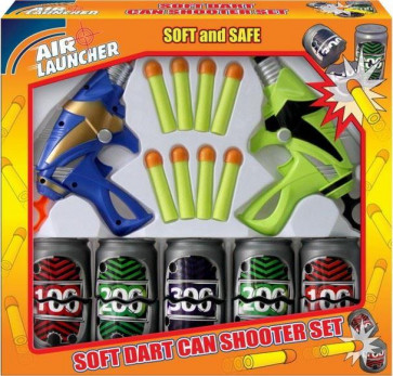 Street Kidz Twin Dart Gun Can-Buster Shooting Game