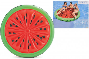 Intex 56283 Inflatable Swimming Pool Lounger Float Watermelon Island Large Lilo