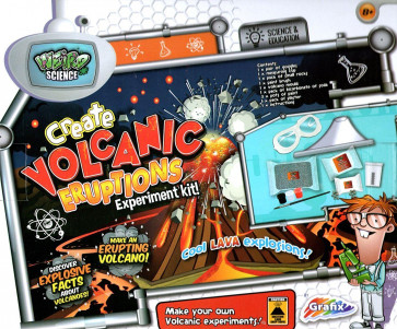 Weird Science Create Volcanic Eruptions Volcano Experiment Science Set For Children
