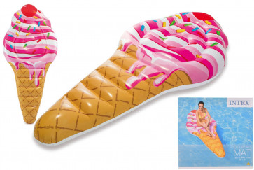 Intex 58762 Inflatable Swimming Pool Lounger Float Ice Cream Mat Lilo
