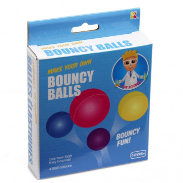 Make Your Own Bouncy Balls Kit Science Activity Toy