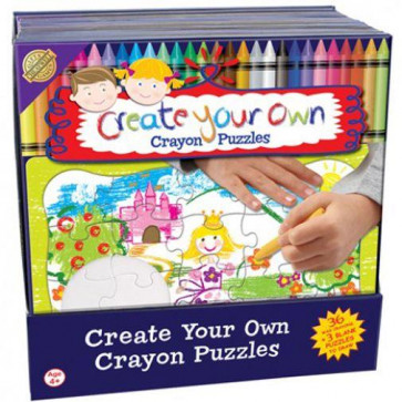 Cheatwell Games Create Your Own Crayon Puzzle ~ Make Your Own Puzzle Princess