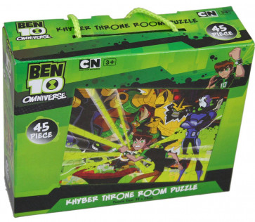 Ben 10 Omniverse Jigsaw Puzzle 45 Piece ~ Khyber Throne Room