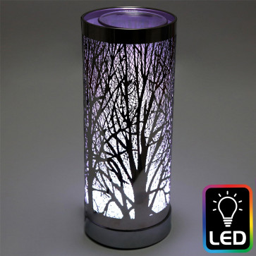 Woodland Tree Colour Changing Led Aroma Diffuser | Electric Wax Melt Burner | Essential Oil Fragrance Burner | Aromatherapy Lamp