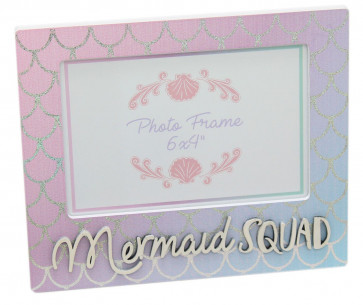 "6x4"" Freestanding Mermaid Squad Landscape Picture Photo Frame"