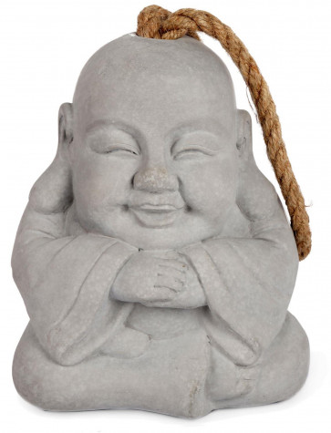 Buddha Doorstop With Jute Handle - Novelty Door Stop