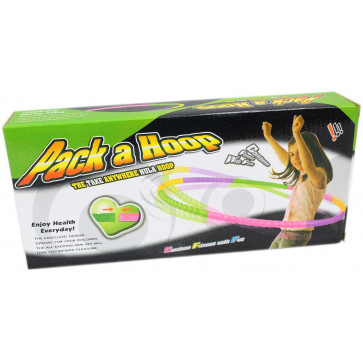 Pack A Hula Portable Collapsible Hoola Hoop Toy