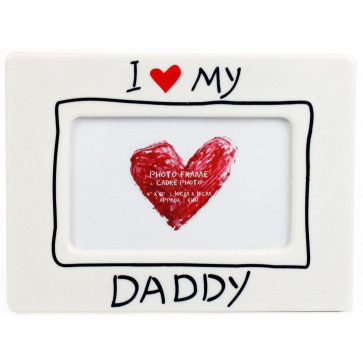 I Love My Daddy Photo Frame ~ Ideal For Fathers Day Or Birthday 6 X 4 Photo Frame