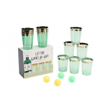 Let The Games Be-Gin Deluxe Gin Pong Drinking Game