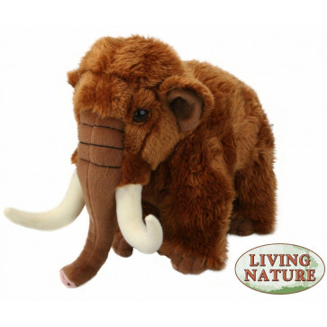 Living Nature Woolly Mammoth Soft Toy