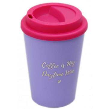 Willow And Rose Coffee Is My Daytime Wine Travel Mug For Tea And Coffee