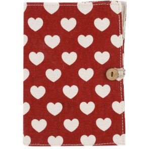E Reader Heart Case - Red ~ Fits The Standard Kindle