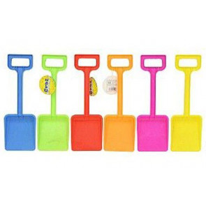Beach Sand Toy 33Cm Plastic Spade ~ Great For The Beach Or Sand Pit (Colour Vary)