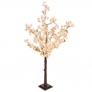 Beautiful 130cm Fake Artificial Pink Blossom Tree ~ Decorative Faux Indoor Plant