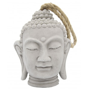 Buddha Ornament Door Stop With Jute Handle ~ Novelty Doorstop
