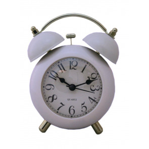 Traditional Bell Alarm Clock ~ Blue