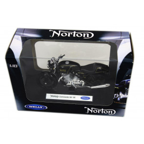 Welly Diecast Officially Licenced 1:18 Scale Motorbike Model ~ Norton Commando 961 SE