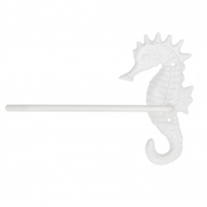 Metal Seahorse Nautical Toilet Roll Holder | Coastal Toilet Paper Wall Mounted Holder | Nautical Bathroom Accessories