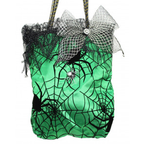 Halloween Trick Or Treat Spiderweb Sweet Candy Bag