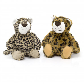 Cute Leopard Cheetah Doorstop | Decorative Fabric Animal Door Stop | Novelty Door Stopper - Design Varies One Supplied