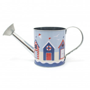Watering Can Beach Huts Design | Tin Watering Can Outdoor and Indoor | Small Watering Sprinkler Can Nautical Decoration
