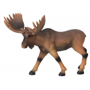 Handsome Moose Animal Ornament Decoration For Garden and Home 24cm