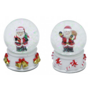 Merry Christmas Waterball Santa Claus Father Christmas Snow Globe Dome ~ Designs Vary