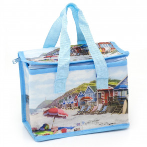 Sandy Bay Insulated Thermal Lunch Tote Cool Bag   Portable Cooler Bag Office School Lunch Bag   Nautical Thermal Lined Bag