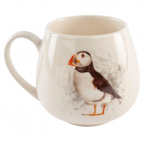 Ceramic Puffin Drinks Coffee Mug - Beautiful Sea Bird Tea Cup