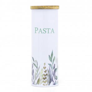 Olive Grove Kitchen Pasta Spaghetti Storage Jar | Airtight Kitchen Canister Tin | Food Storage Container
