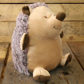 Take Me Home Doorstop - Brown Hedgehog Door Stop